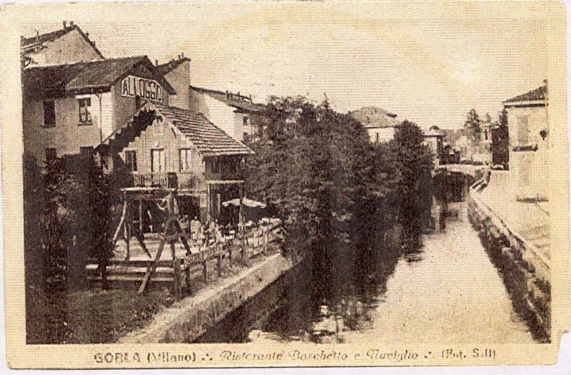 Gorla-Ristorante Boschetto (ora Zelig) e Naviglio