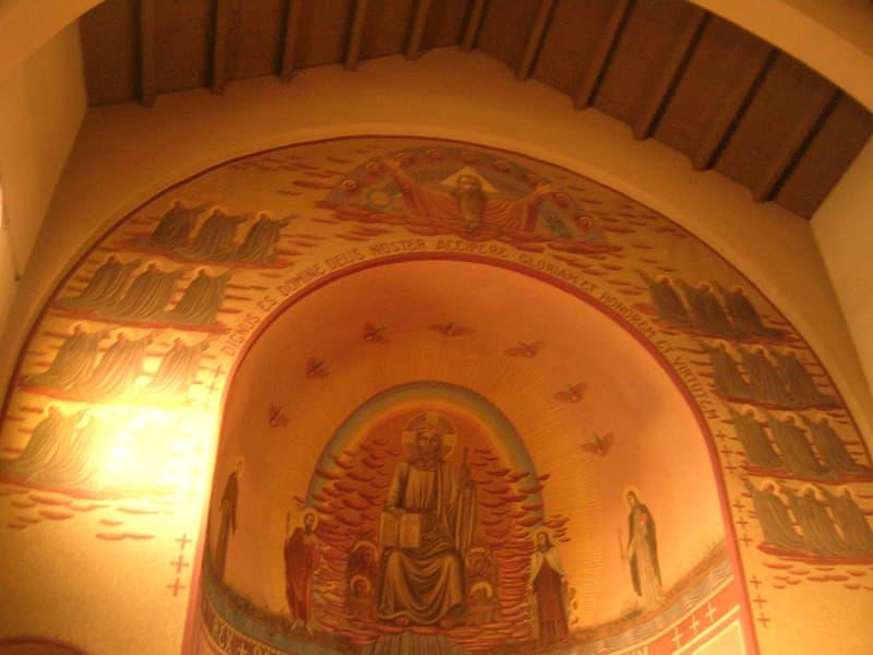 Chiesa Parrocchiale S. Teresa Abside affrescato