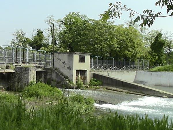 Ponte canale sul Lambro