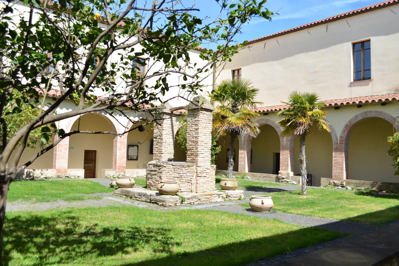 CARTELLO 4 Chiostro Convento Cappuccini Fotografia di Jessica Podda