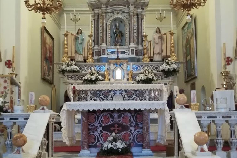 Chiesa di San Biagio Altare_